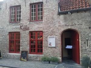 Restaurant Réliva, Bruges