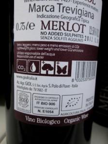 Giol, Merlot 'Bio vegan'