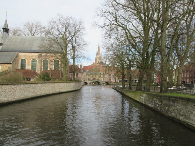 view at Church of our lady (Onze-Lieve-Vrouwe kerk)