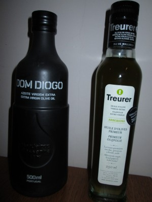 Olive oils, Dom Diogo and Treuer