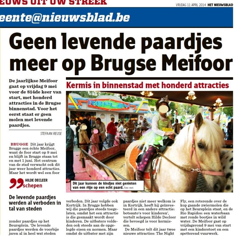 Het Nieuwsblad, 2014-04-11