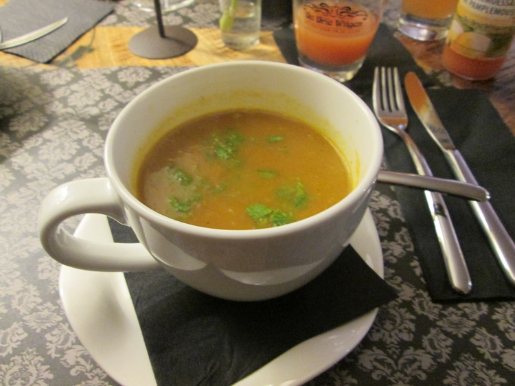 Soup of the day, 4,50€