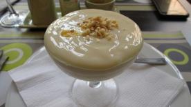 dessert: vanilla pudding
