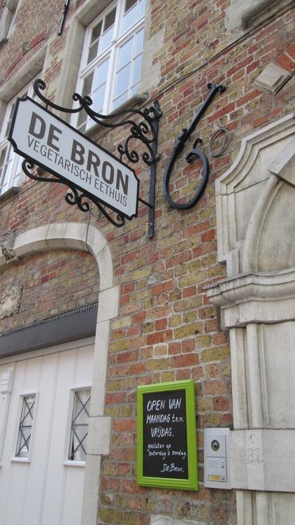 vegetarian restaurant De Bron, Bruges