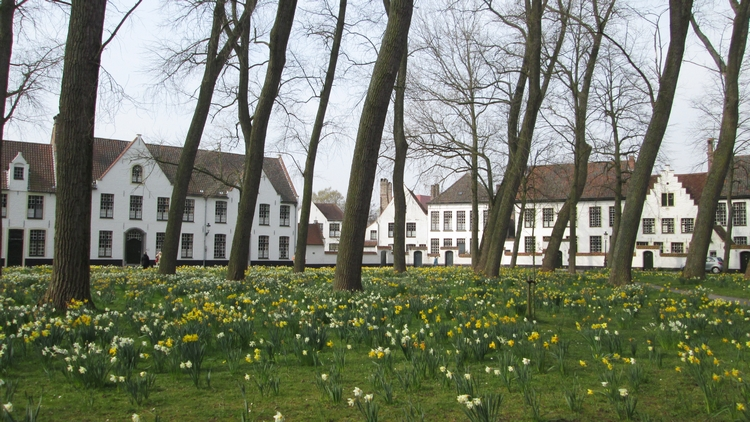 beguinage, near De Bron