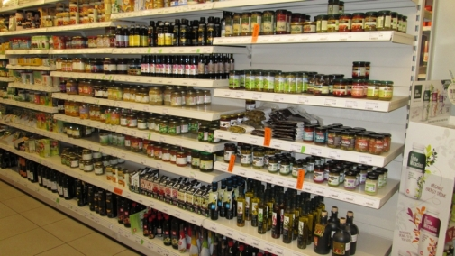 oils, canned vegetables, etc