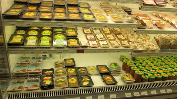 bread spreads, burgers, seitan, etc