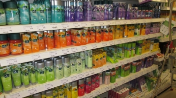 body and care products