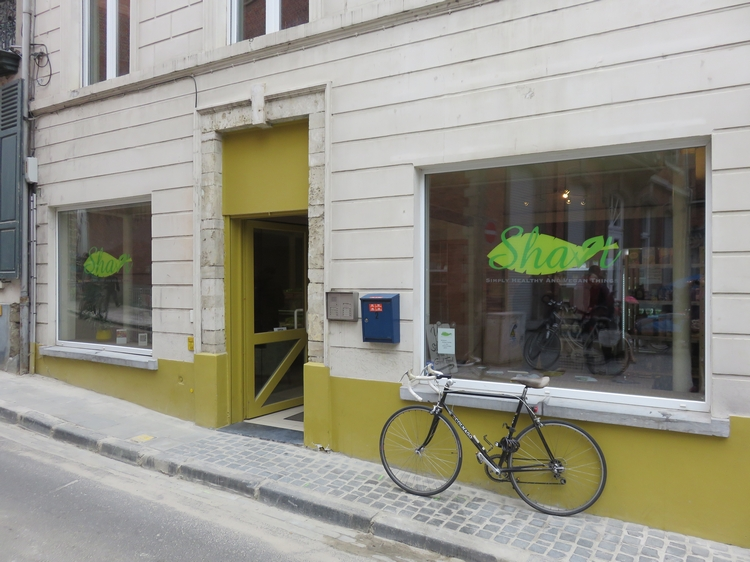 vegan shop SHAVT, Louvain
