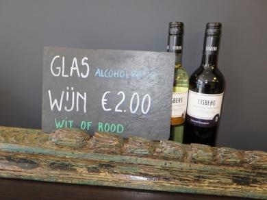 alcoholfree wine @ vegaverso Leuven