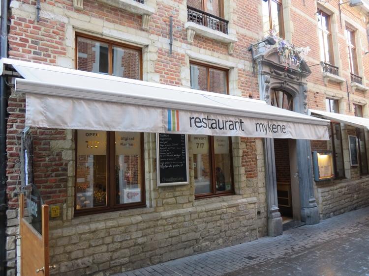 restaurant Mykene, Leuven