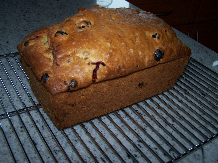 Cranberry bread, another version