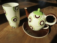 teapot for one, with matching cup
