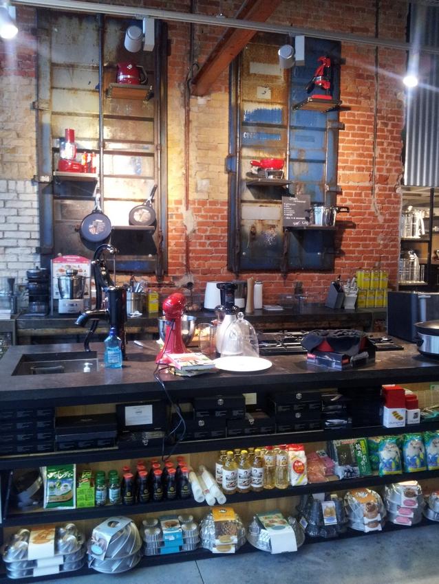 inside shop cooking shop Bianca Bonte, Oostburg