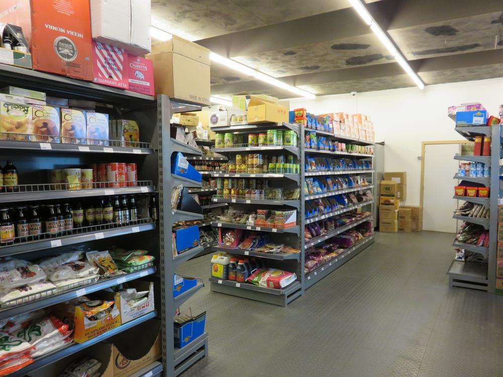 Inside Asian shop Circle, Leuven