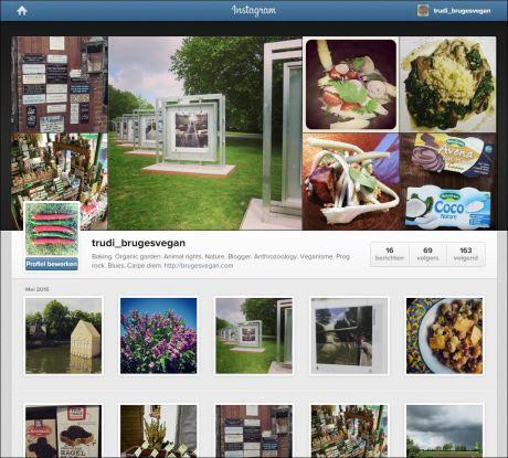 My profile on Instagram