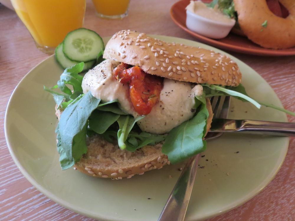Hummus bagel, 3,95€
