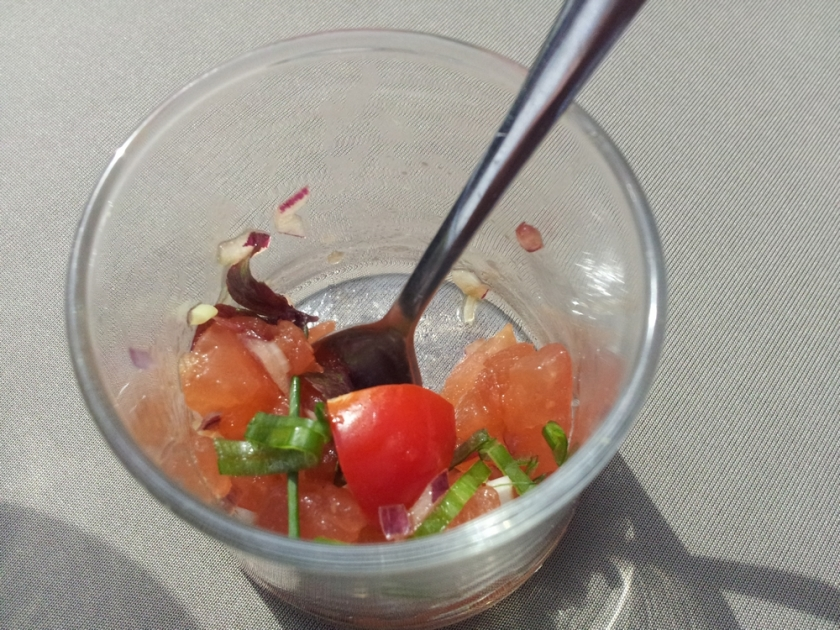 appetizer with tomatoes