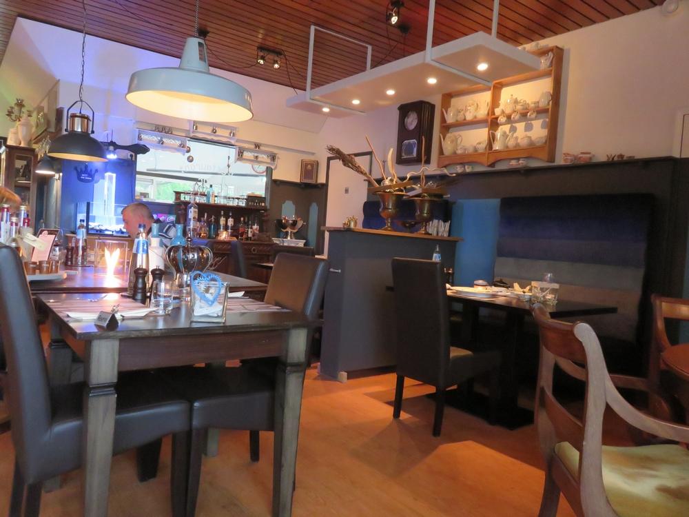 Interior, restaurant De Kroontjes, Texel