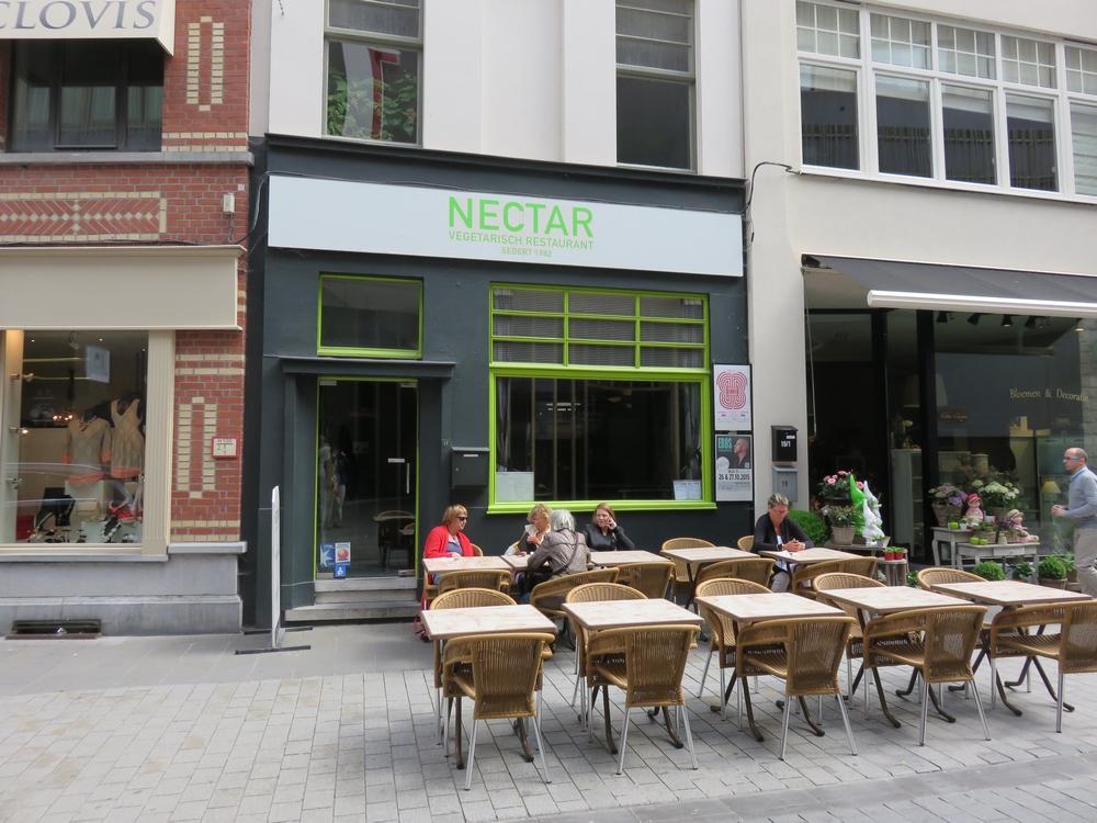 vegetarian restaurant Nectar, Kortrijk