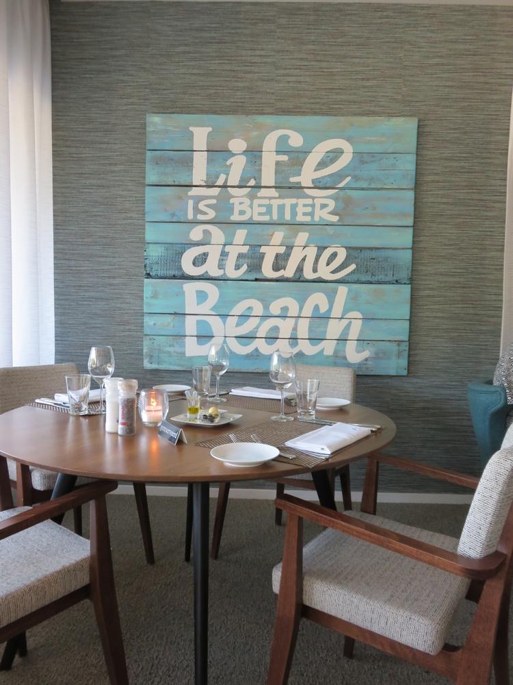 restaurant Opduin, De Koog, interior
