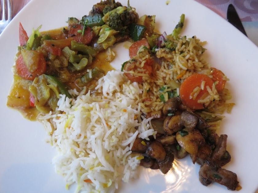 dinner at Taj Mahal, Texel