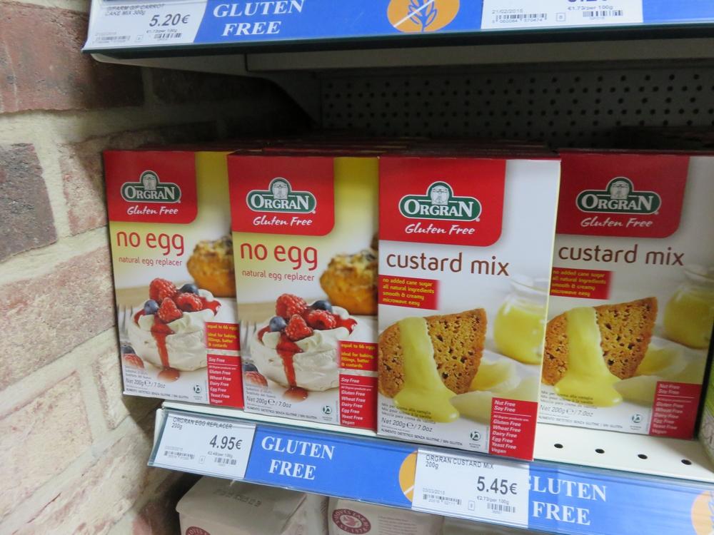 No egg (egg replacer)