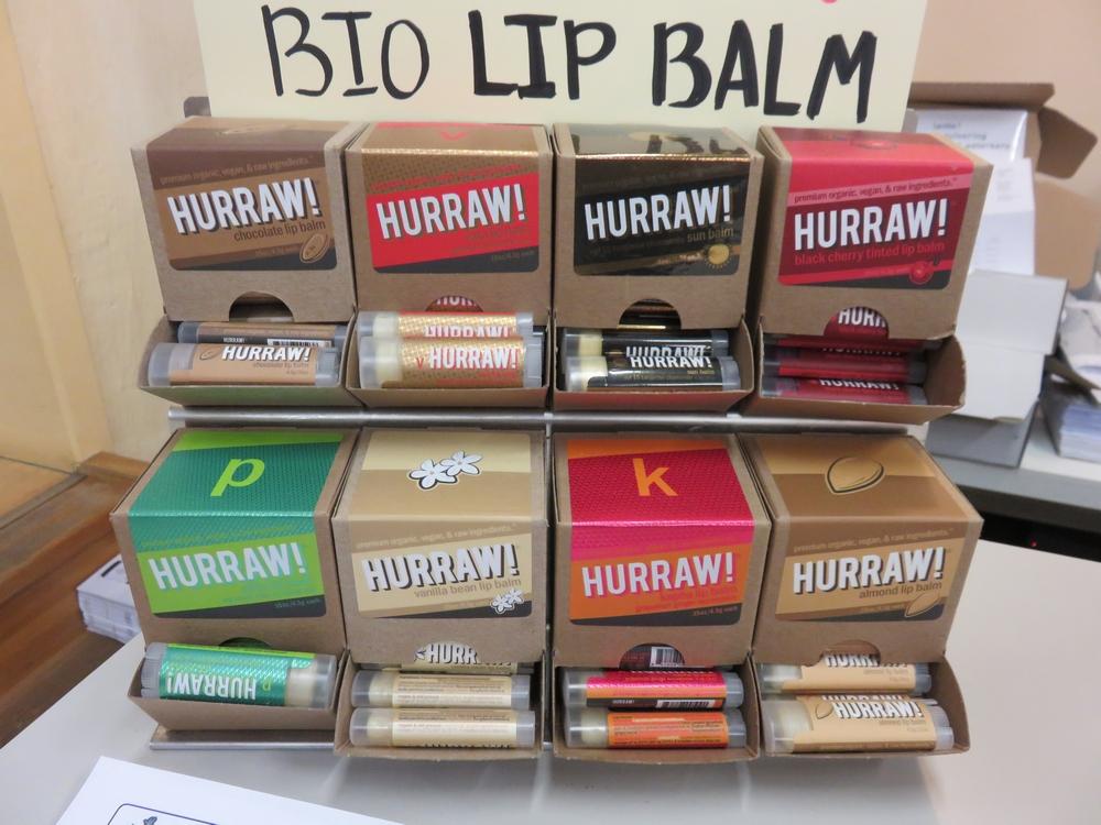 vegan lip balsem Hurraw