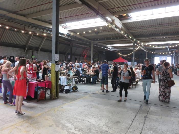 Inside the Hall @vegan Summerfest