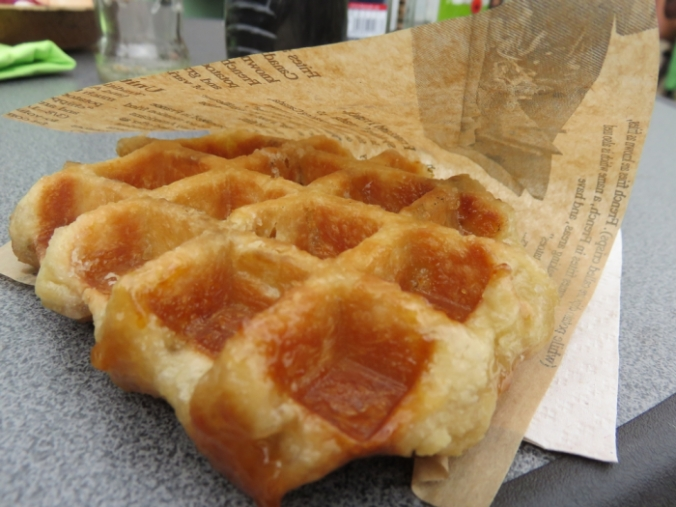 Liegeois waffle, 3€