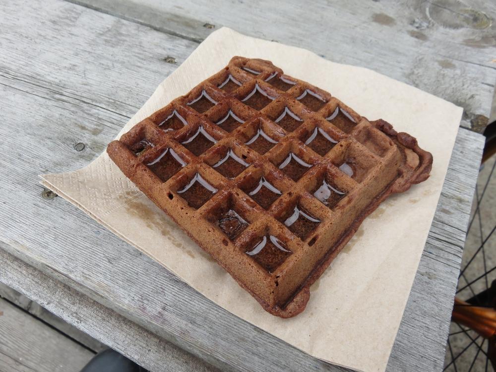 waffle from Viva Vega Loving Hut Express,