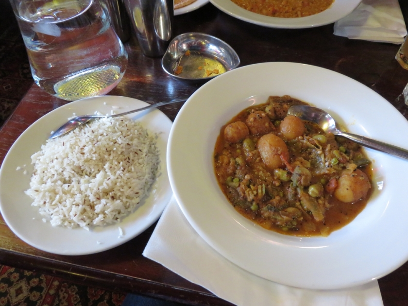 potato vegetable curry 13,54£