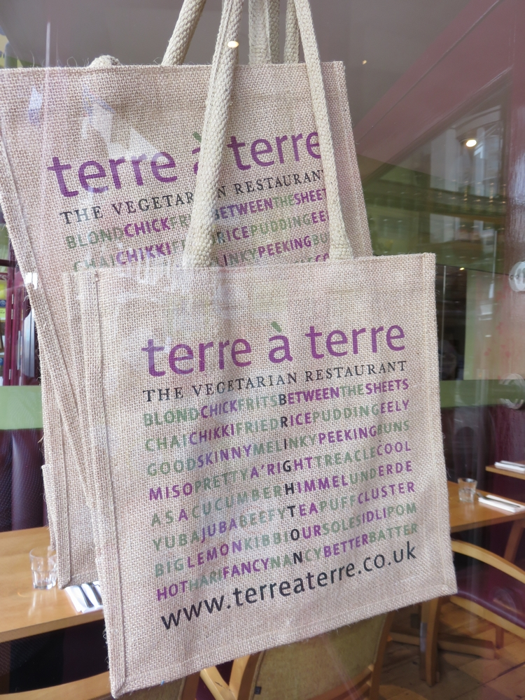 Terre a Terre, vegetarian restaurant, Brighton, UK