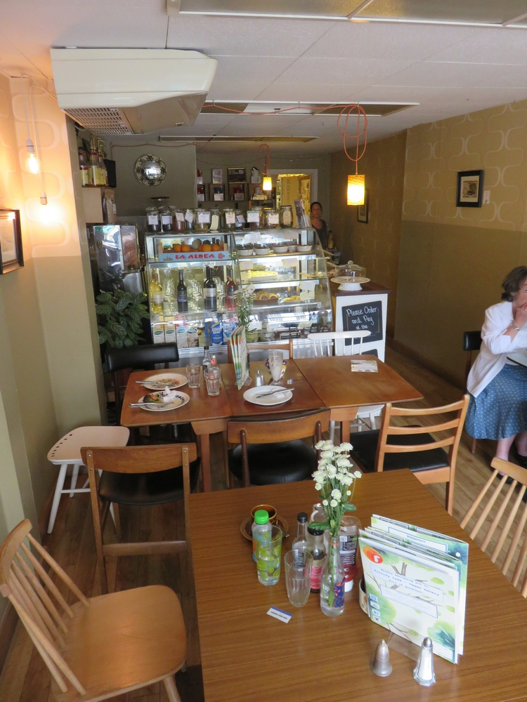 Fortify Cafe, inside, Maidstone, UK