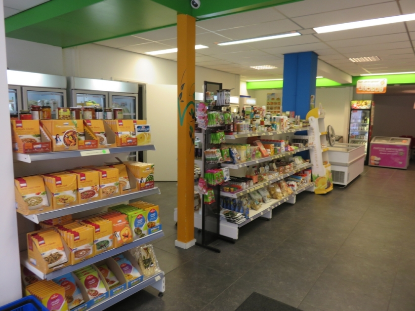 A look inside vegetarian shop veggie4u, The Hague, The Netherlands
