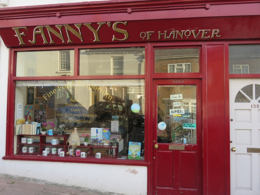 Fanny's at Hanover, organic store where the popup restaurant is every Friday