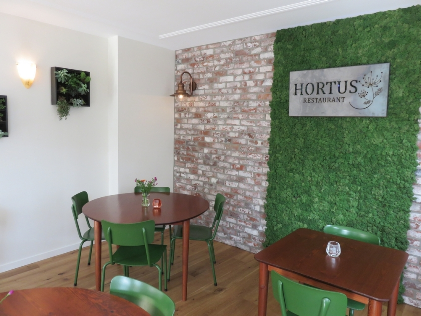 Interior restaurant Hortus, The Hague