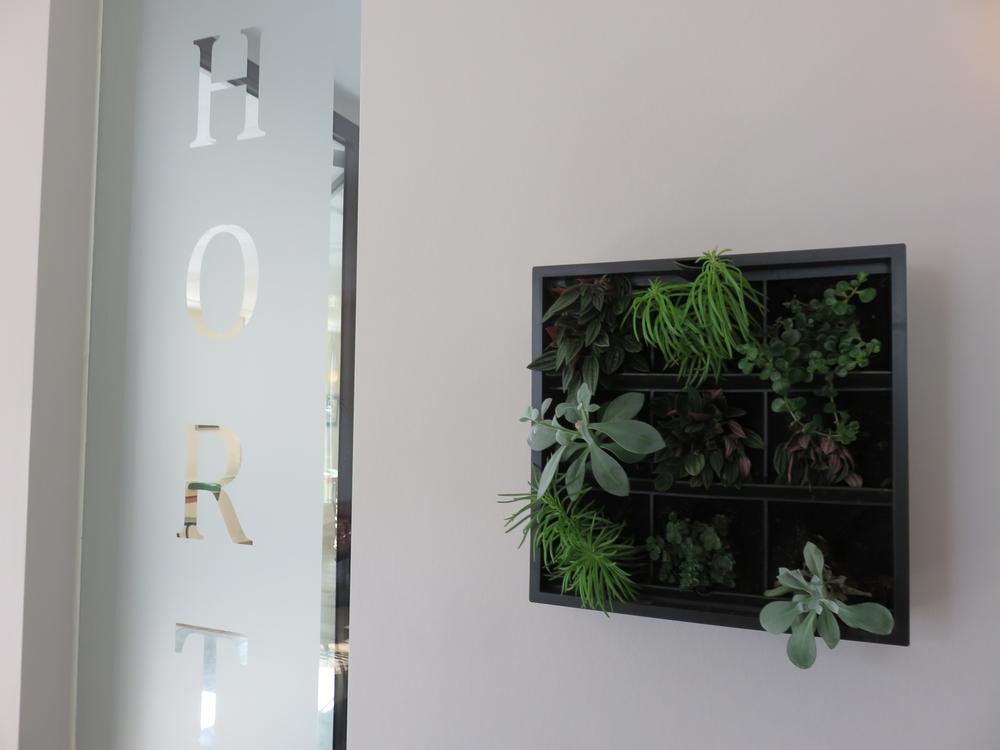 Interior restaurant Hortus, The Hague