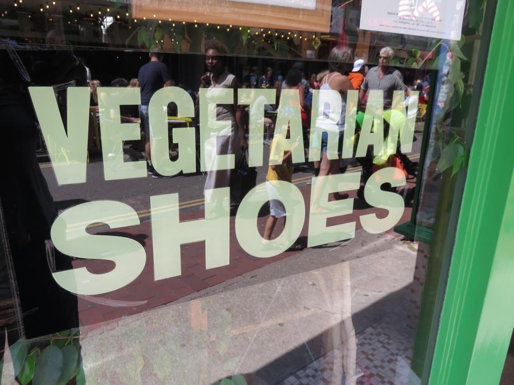 shop Vegetarianshoes, Brighton, UK