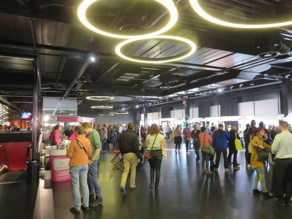 vegfestNL, main hall, Utrecht NL