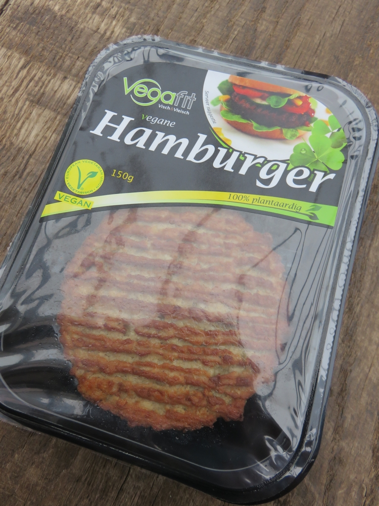 vegan burger, not cooled unfortunately