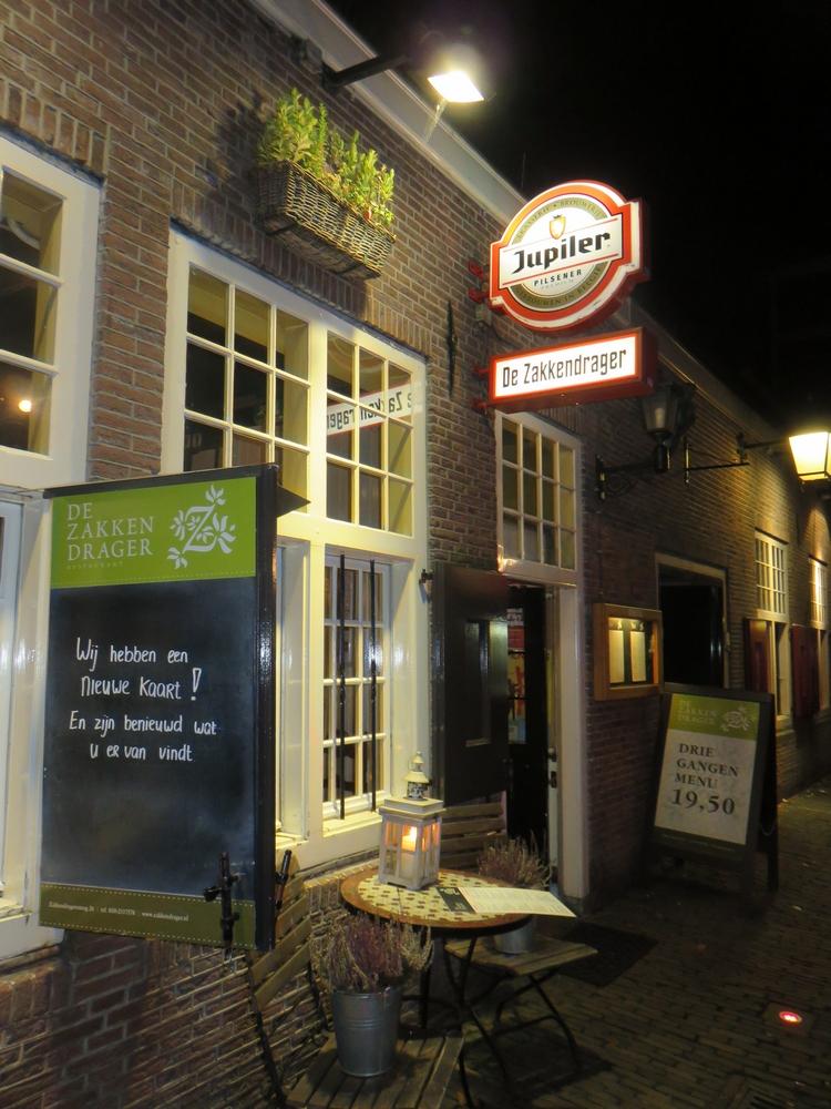 De zakkendrager, Utrecht, the Netherlands