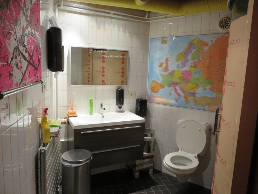 toilet, clean and tidy