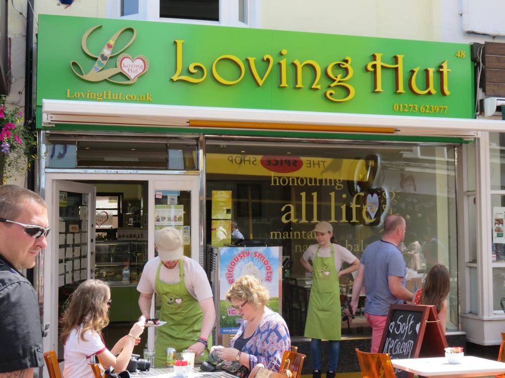ŒLoving Hut, Gardner street, Brighton, UK