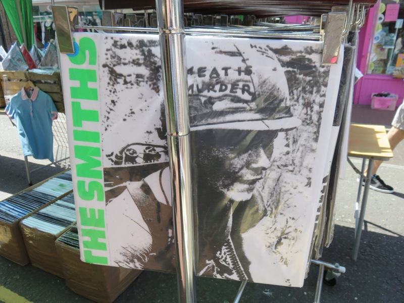 The Smiths, Meat is murder album in one of the record shops, Brighton, UK