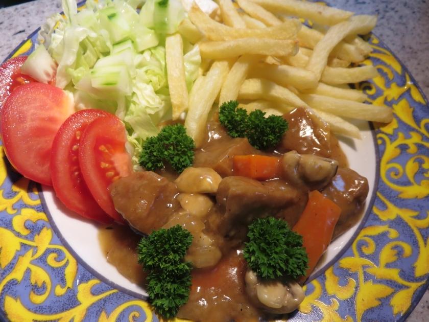 Flemish stew, à la vegan