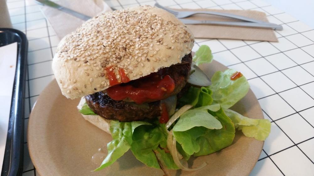 Veganerie XL Burger 7,50€