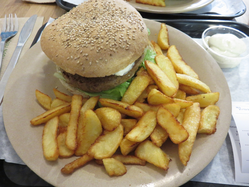 Spicey Gonzales Burger 7,20€