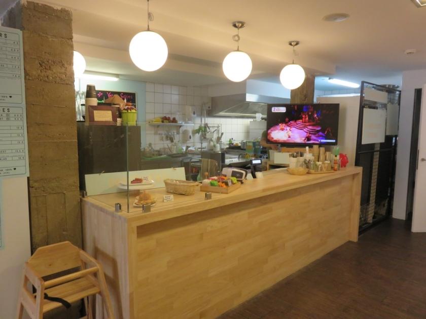 Counter, Loving Hut Veganerie, Louvain