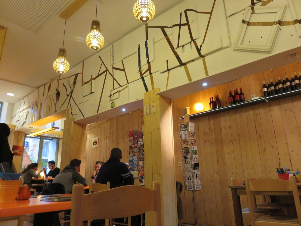 Hashtag Food, interior